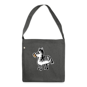 Zebra-Tasche - Shoulder Bag made from recycled material