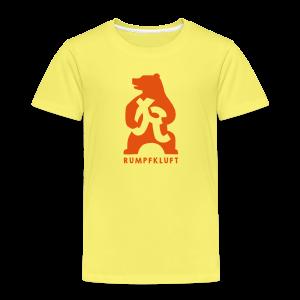 Rumpfkluft-Bär - Kinder Premium T-Shirt