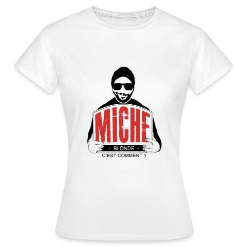 T-shirt Miche (femme)  - T-shirt Femme