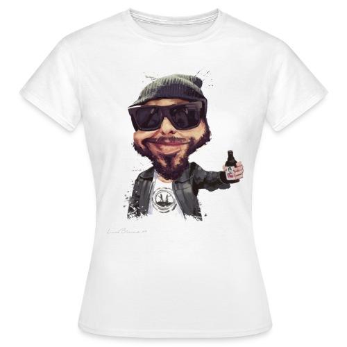 T-shirt caricature Michel (femme) - T-shirt Femme