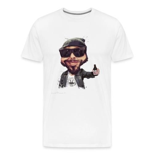 T-Shirt caricature Michel (homme) - T-shirt Premium Homme