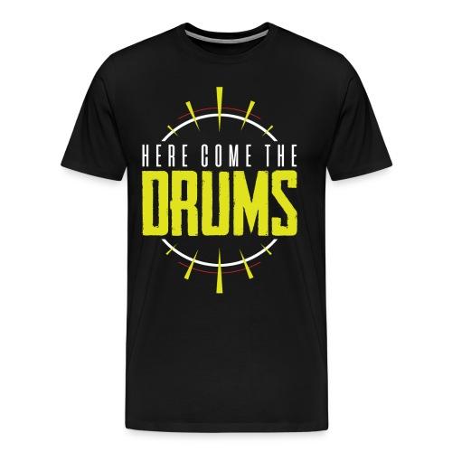 TFB | Here come the drums - Men's Premium T-Shirt