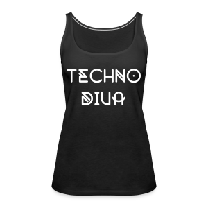 Techno  - Top (Damen) - Women's Premium Tank Top