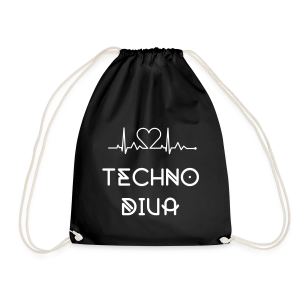 Techno  - Turnbeutel (Damen) - Drawstring Bag