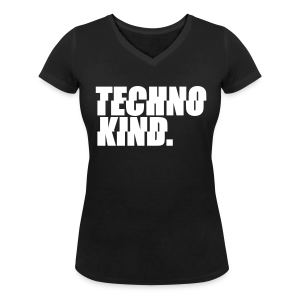 Technokind. - V-Schnitt T-Shirt (Damen) - Women's Organic V-Neck T-Shirt by Stanley & Stella