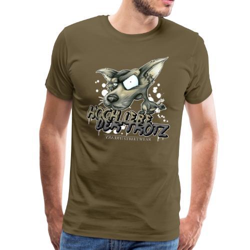 Hoch lebe der Trotz - Männer Premium T-Shirt
