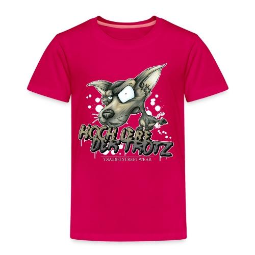 Hoch lebe der Trotz - Kinder Premium T-Shirt