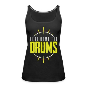 TF-Global | Here come the drums - Women's Premium Tank Top