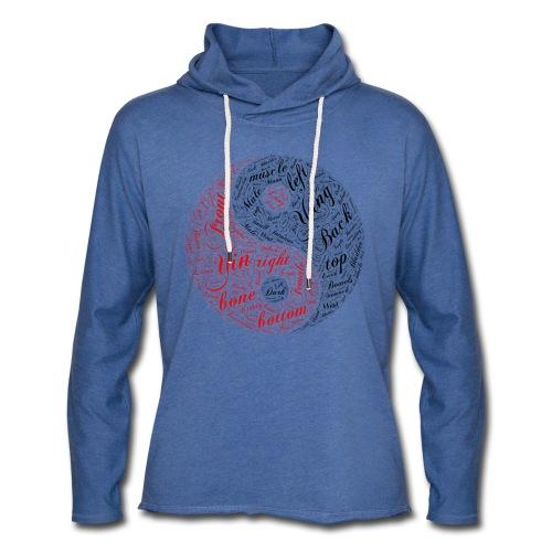DSI UK V2 Yin Yang Hoodie - Light Unisex Sweatshirt Hoodie