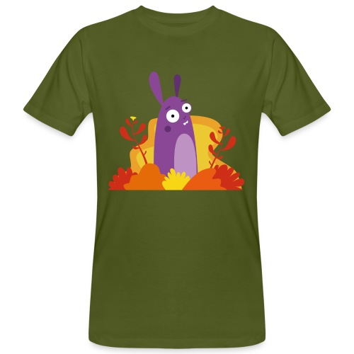 Lila Laune - Männer Bio-T-Shirt