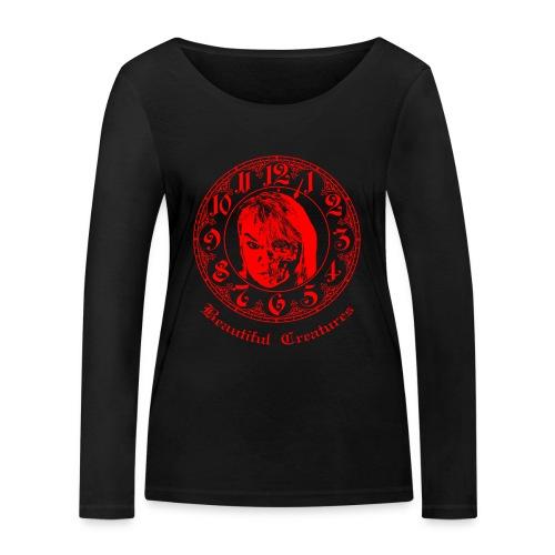 Beautiful Creatures | rot - Langarm Shirt - Frauen Bio-Langarmshirt von Stanley & Stella