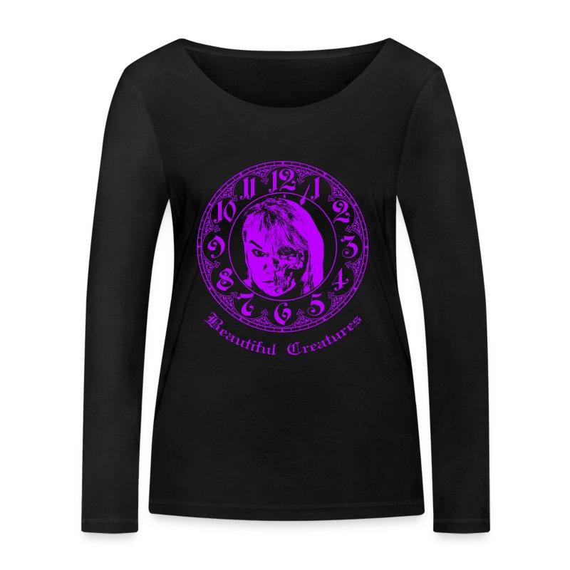 Beautiful Creatures | lila - Langarm Shirt - Frauen Bio-Langarmshirt von Stanley & Stella
