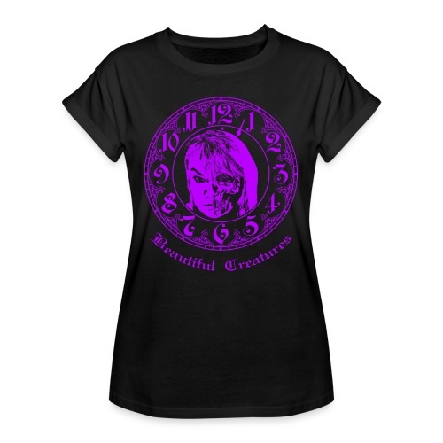 Beautiful Creatures | lila - Lady Shirt - Frauen Oversize T-Shirt