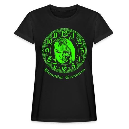 Beautiful Creatures | green - Lady Shirt - Frauen Oversize T-Shirt