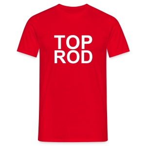 toprod red - T-shirt herr