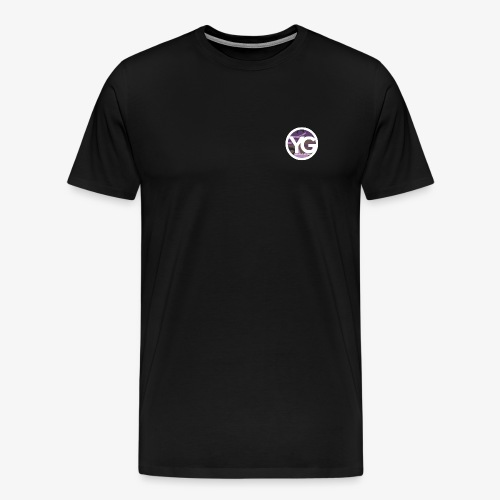 #YG 'Purp Camo' logo Tee - Men's Premium T-Shirt
