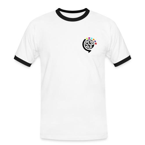 T-shirt contraste Homme SSP - T-shirt contrasté Homme