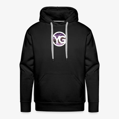 #YG 'PurpleCamo' Hoodie - Men's Premium Hoodie