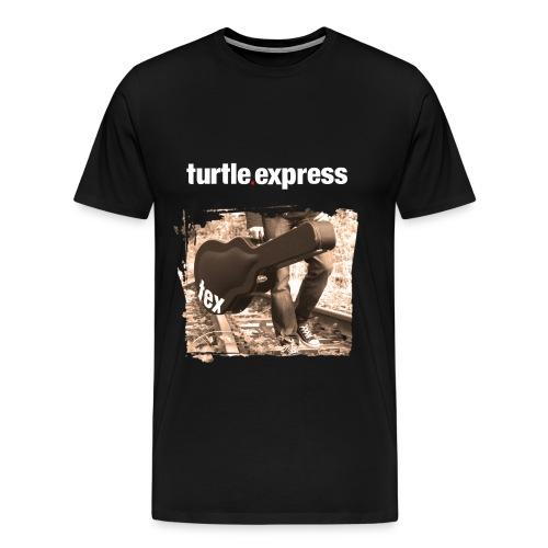 turtle.express Shirt  Guitar - Männer Premium T-Shirt