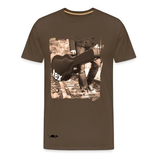 TEX Shirt  Guitar - Männer Premium T-Shirt