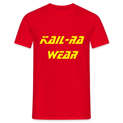 Tee shirt Kail-Ra Wear rouge - T-shirt Homme