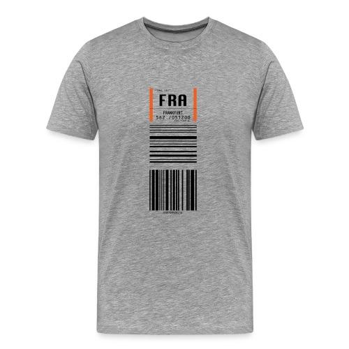 Flughafen Frankfurt FRA - Männer T-Shirt - Männer Premium T-Shirt