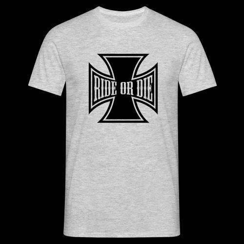 Ride or die  - T-skjorte for menn