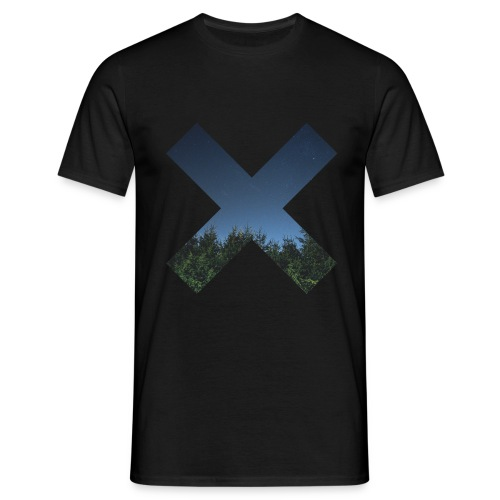 T-Shirt // Pueblo Vista // X Starry Night - Männer T-Shirt