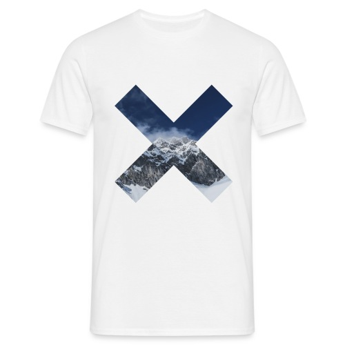 T-Shirt // Pueblo Vista // X Snow Mountain - Männer T-Shirt