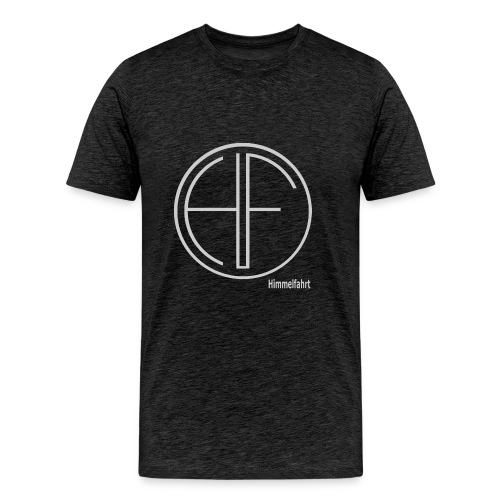 Männer T-Shirt HF Logo Kreis normal - Männer Premium T-Shirt