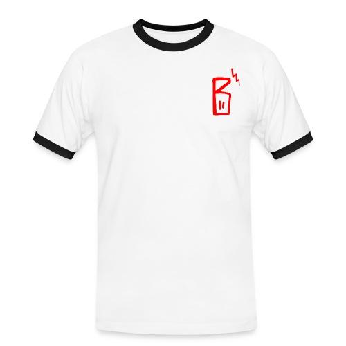 BABAS Pullover - Männer Kontrast-T-Shirt