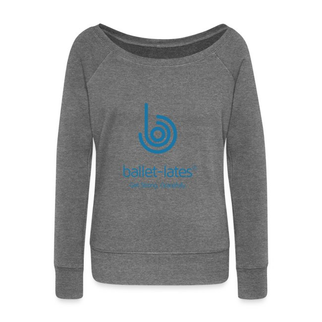 Ballet-lates Boat-Neck Long Sleeve Top