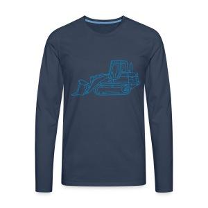 Bulldozer (Planierraube) - Männer Premium Langarmshirt