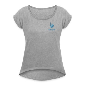 Ballet-lates College-style t-shirt - Women  - Women's T-shirt with rolled up sleeves