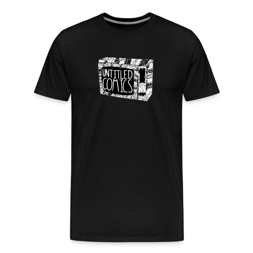 TV shirt w/ Logo - Men's Premium T-Shirt