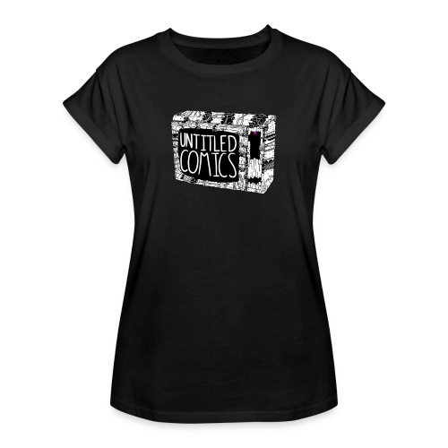 TV shirt w/ Logo - Women's Oversize T-Shirt