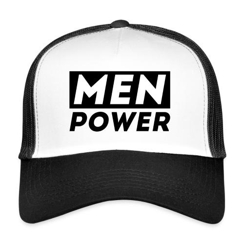 MEN POWER Trucker Cap - Trucker Cap