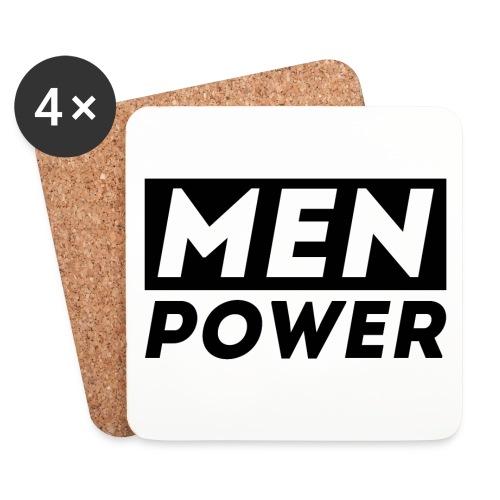 MEN POWER Untersetzer - Untersetzer (4er-Set)