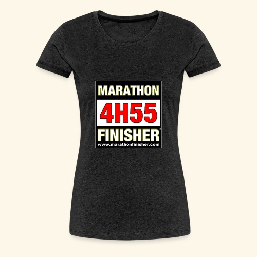 MARATHON FINISHER 4H55 woman - Women's Premium T-Shirt