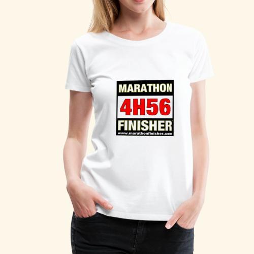 MARATHON FINISHER 4H56 woman - Women's Premium T-Shirt