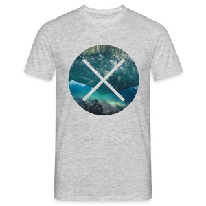 T-Shirt // Pueblo Vista // XO Lake Reflections - Männer T-Shirt