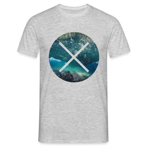T-Shirt // Pueblo Vista // XO Lake Reflections - Männer T-Shirt