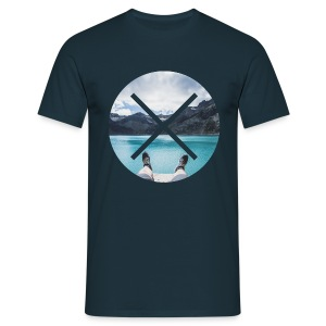 T-Shirt // Pueblo Vista // XO Lake View - Männer T-Shirt