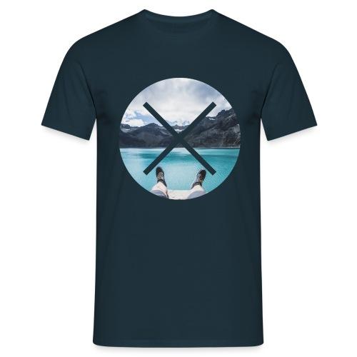 T-Shirt // Pueblo Vista // XO Lake View - Männer T-Shirt