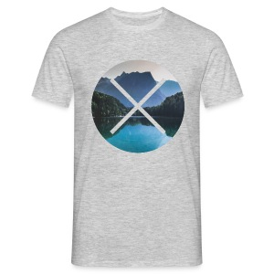T-Shirt // Pueblo Vista // XO Mountain Lake - Männer T-Shirt