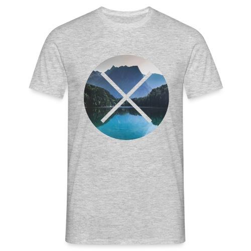 T-Shirt // Pueblo Vista // XO Mountain Lake - Männer T-Shirt