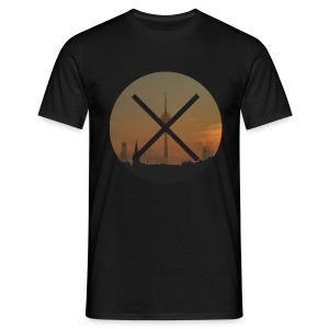 T-Shirt // Pueblo Vista // XO Tower Sunset - Männer T-Shirt