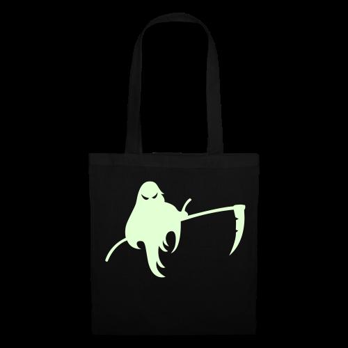 Halloween Tasche Glow in the Dark - Sensengeist - Stoffbeutel