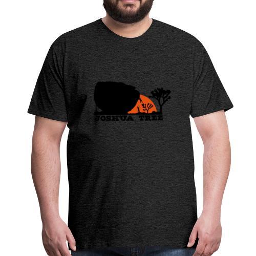 Bouldern in Joshua Tree - Männer Premium T-Shirt