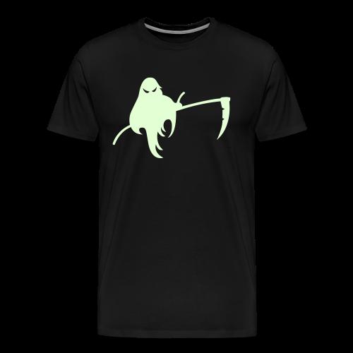 Halloween Shirt Glow in the Dark - Sensengeist - Männer Premium T-Shirt